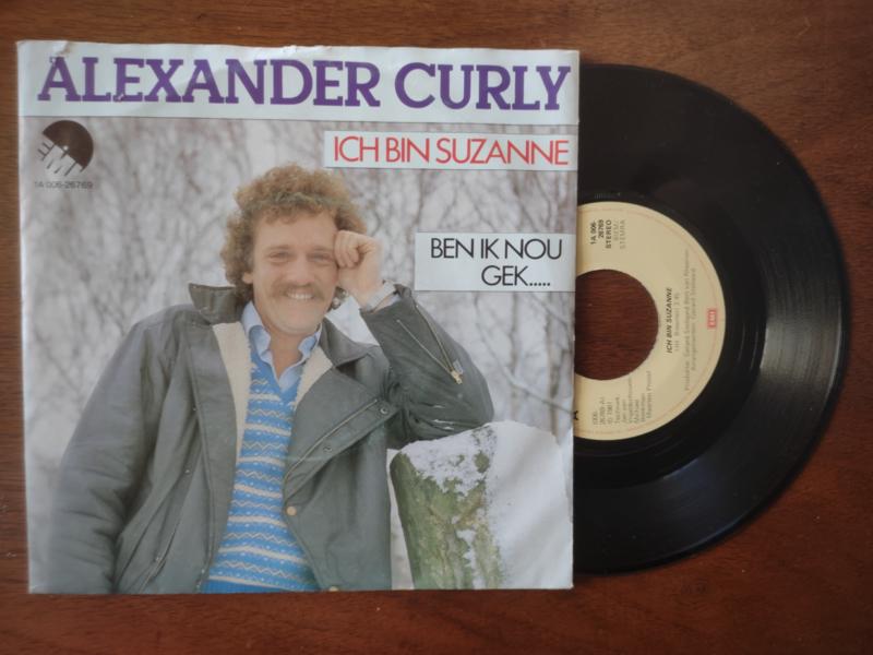 Alexander Curly met Ich bin Suzanne 1981 Single nr S20211224