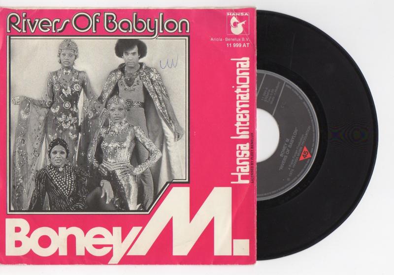 Boney M met Rivers of babylon 1978 Single nr S2021578