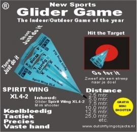 Spirit Wing XL4-2 Blauw