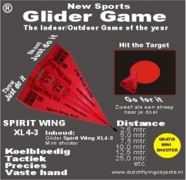Spirit Wing XL4-3 Rood