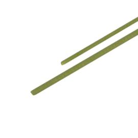 Gfk-massief P12 1,2mm gewikkeld 100cm wit / 10 stuks