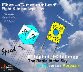 Fight kiting bouwpakket / Sanjo v/s Koreaan