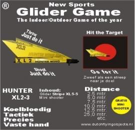 Hunter XL2-3 Geel