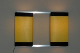Wall Light Duo Yellow