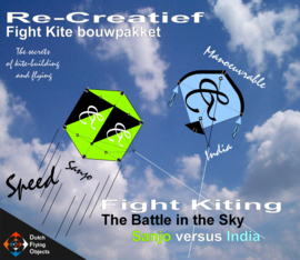 Fight kiting bouwpakket / Sanjo v/s India