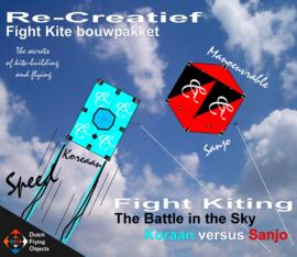 Fight kiting bouwpakket / Koreaan v/s Sanjo