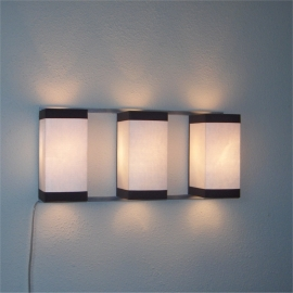 Wall Light Trio White