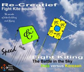 Fight kiting bouwpakket / Hata v/s Koreaan