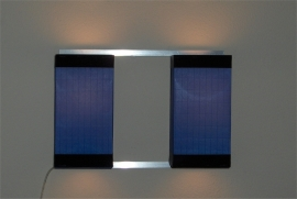Wall Light Duo Blue