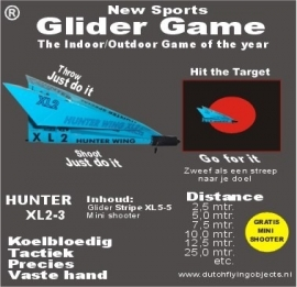 Hunter XL2-3 Blauw