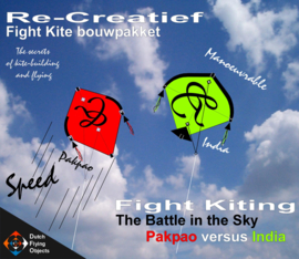 Fight kiting bouwpakket / Pakpao v/s India