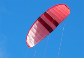 Cooper Nexxt One 300  -  Kite only  - Red/Black