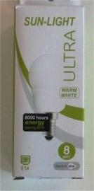 Spaarlamp 8 watt (E14)