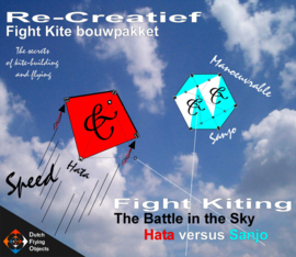 Fight kiting bouwpakket / Hata v/s Sanjo