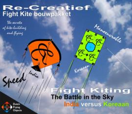 Fight kiting bouwpakket / India v/s Koreaan
