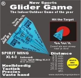 Spirit Wing XL4-3 Blauw