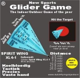 Spirit Wing XL4-1 Blauw