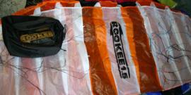 Rookee 5.0 R2F Orange/white/black  + Cross-Over-Bar
