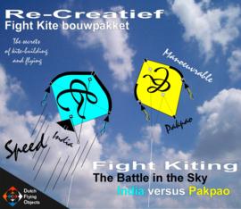 Fight kiting bouwpakket / India v/s Pakpao