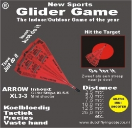 Arrow XL3-3 Rood