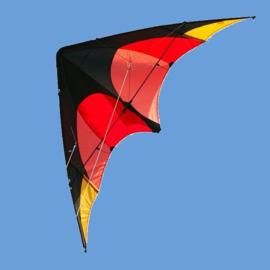 Delta Sport R2F  (Black/orange/red/yellow)