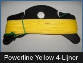 Powerline-Yellow 200/100 daN 4 x 20 mtr.