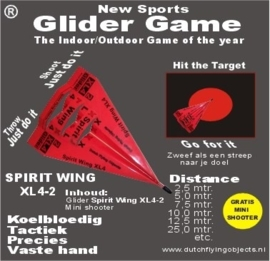 Spirit Wing XL4-2 Rood