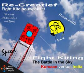 Fight kiting bouwpakket / Koreaan v/s India