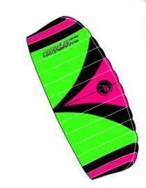 Paraflex 2.3 Trainer kite R2F - Green/Pink/Black