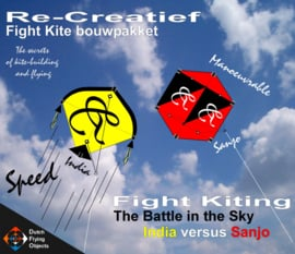 Fight kiting bouwpakket / India v/s Sanjo