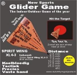 Spirit Wing XL4-3 Oranje