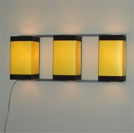 Wall Light Trio Yellow