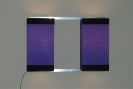 Wall Light Duo Purple