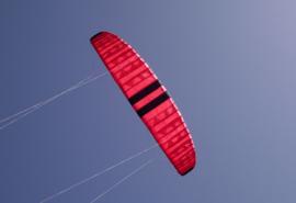 Cooper Motor 6.5 Kite only - Red/black