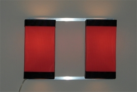 Wall Light Duo Red