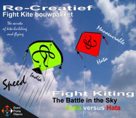Fight kiting bouwpakket / India v/s Hata