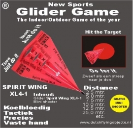Spirit Wing XL4-1 Rood