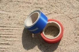 Spinnaker kleefband 50mm  / Blue