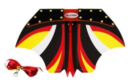 Skytrix glider  zwart/rood/geel