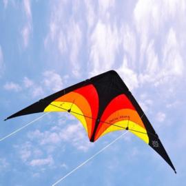 Delta Stunt R2F  ( Black/red/orange/yellow)