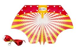 Skytrix glider  rood/geel