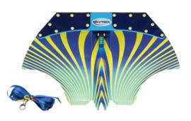 Skytrix glider  blauw/geel