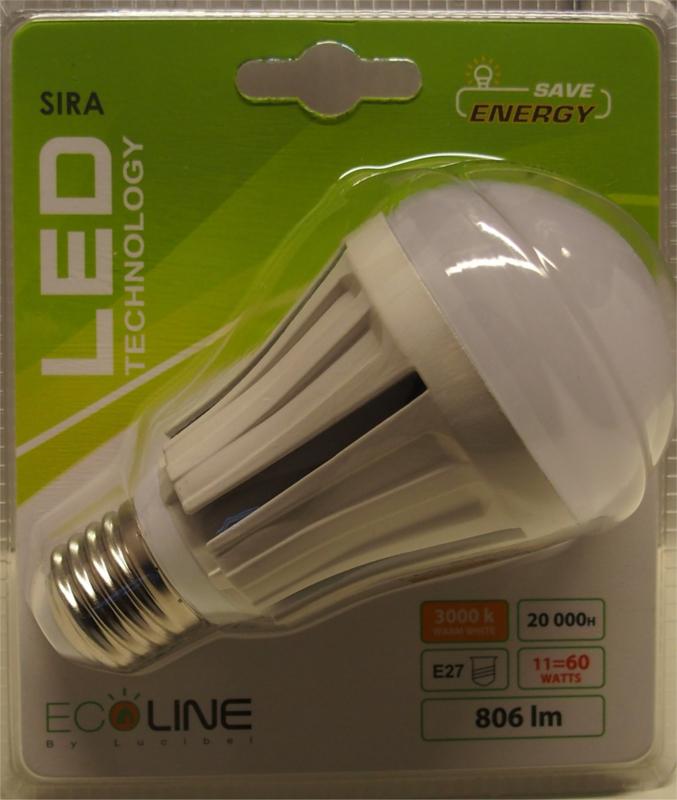 Led lamp 806 lm (E27)