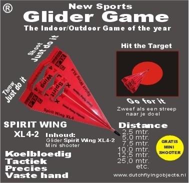 Spirit Wing XL4-2 Rood