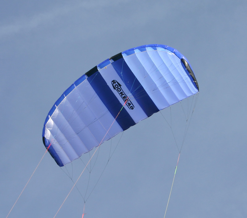 Rookee 2.0  R2F  Blue/White/Kiwi + Coss-Over-Bar