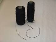 Polyester lijn 4.0mm 280 daN zwart/blauw