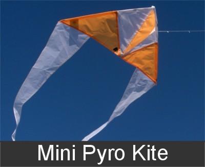 Mini Pyro 1 lijns vlieger