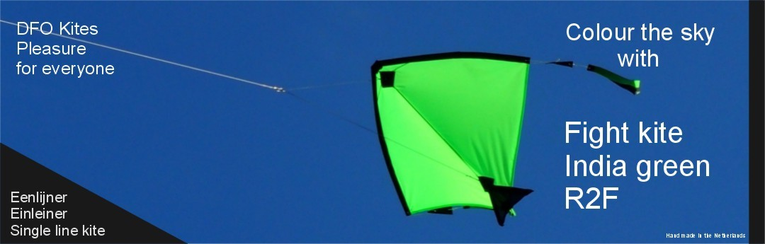 Fight kite India a green