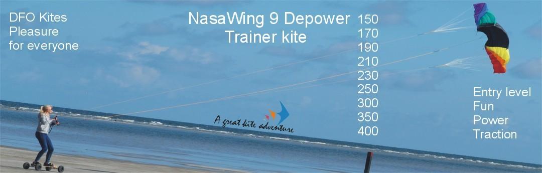 NasaWing 9 depower-Landboard