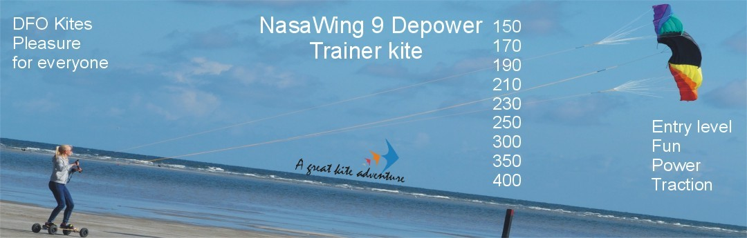 NasaWing 9 depower-Landboard